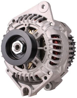 Alternators are found inside the vehicle engine itself