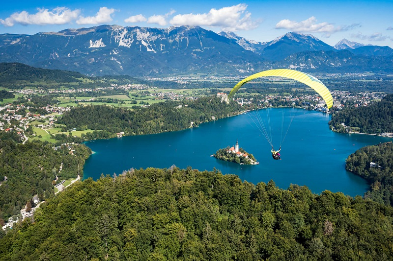 Paragliding Bled is currently one of the most sought for adventures in Bled