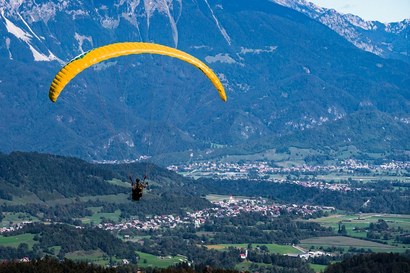 With paragliding Bled you can make your dream come true
