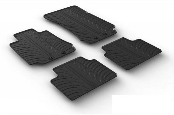 Rubber mats for cars